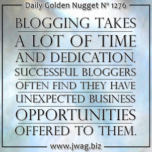 The Complete Picture: JCK Talks - The Power of Blogging daily-golden-nugget-1276-62