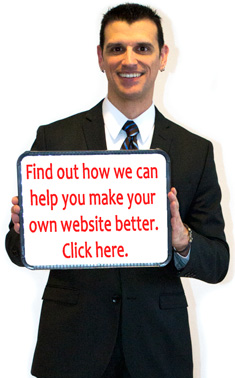 Find out how we can help you make your own website better. Click here.