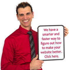 We have a smarter and faster way to figure out how to make your website better. Click here.