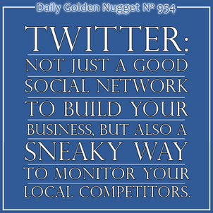 Using Twitter To Spy On The Competition 1019-daily-golden-nugget-954
