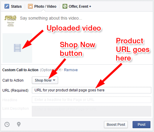 Online Marketing Campaigns To Sell Your Products 1088-fb-call-to-action-shop-button-60