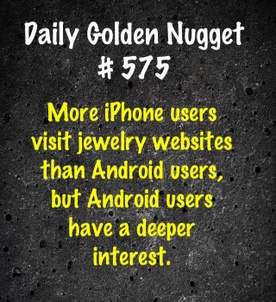 Jewelry Website Mobile Usage Statistics image