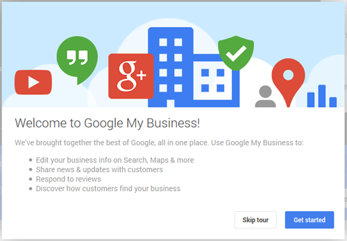 Introduction to Google My Business 1100-my-business-welcome-screen-64