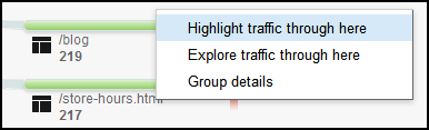 Google Analytics Users Flow Report 1107-ga-highlight-traffic-through-here-20