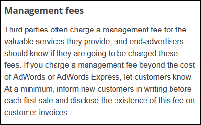 Getting The Proper Invoice From Your Google AdWords Agency 1111-google-adwords-management-fees-disclosure-4