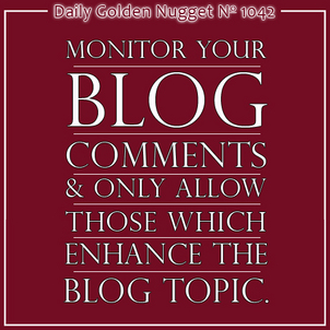 Examples of Link Building and Bad Blog Comments 1122-daily-golden-nugget-1042