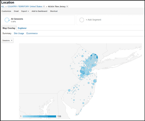 Using Google Analytics Segmenting To Analyze Local Social Network Traffic 1124-location-region-report-17