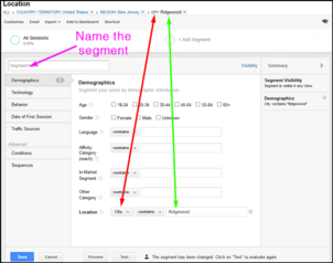 Using Google Analytics Segmenting To Analyze Local Social Network Traffic 1124-segmenting-single-town-73