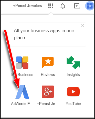 Google My Business: AdWords Express Reporting 1127-adwords-express-icon-0