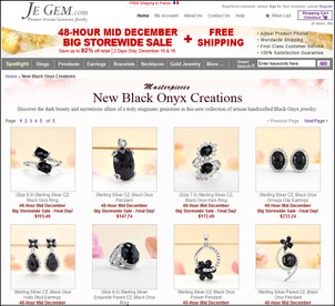 Holiday Season Email Marketing and Landing Page Review 1148-jegem-black-onyx-landing-page-54