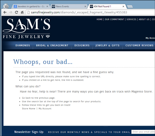 Sams Fine Jewelry Website Review 1150-sams-fine-jewelry-product-dead-40