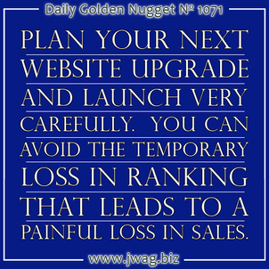 Upgrading Your Website Without Losing Organic Ranking 1154-daily-golden-nugget-1071