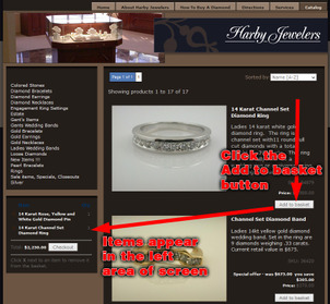Harby Jewelers Website Review 1155-harby-jewelers-cart-96