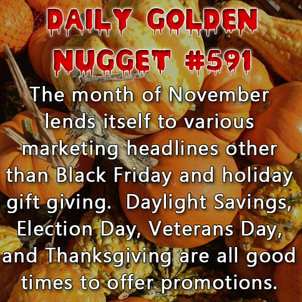 Talking Turkey in November, and Other Holiday Headlines 1169-daily-golden-nugget-591
