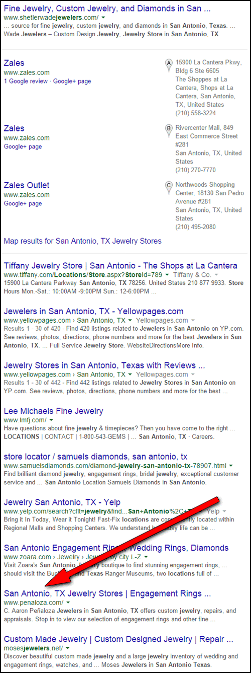 C. Aaron Penaloza Jewelers Website Review  1170-ninth-place-43