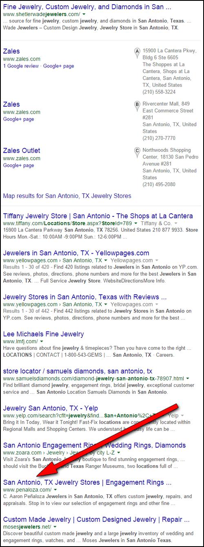 C. Aaron Penaloza Jewelers Website Review  1170-ninth-place-43