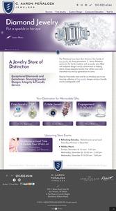 C. Aaron Penaloza Jewelers Website Review  1170-penaloza-home-page-0