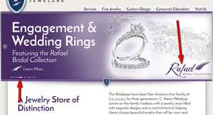 C. Aaron Penaloza Jewelers Website Review  1170-rafael-home-page-4