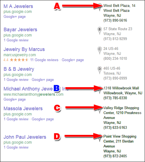 Google+ Local Now Shows Shopping Mall Information 1200-local-pack-example2-29