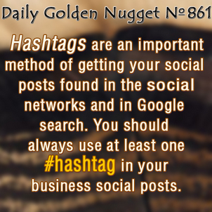 Understanding How and Why To Use Hashtags 1210-daily-golden-nugget-861