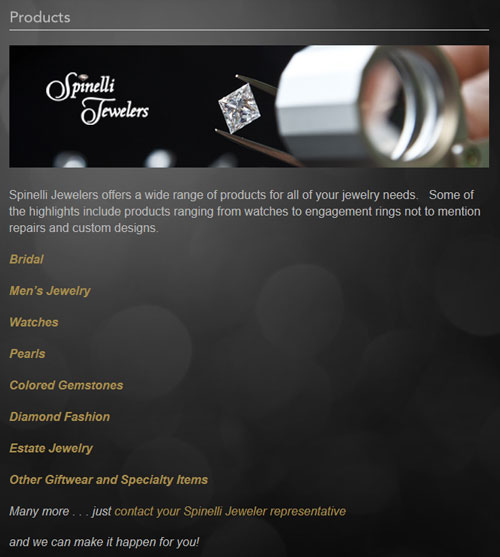 Spinelli Jewelers Website Review 1220-products-page-87