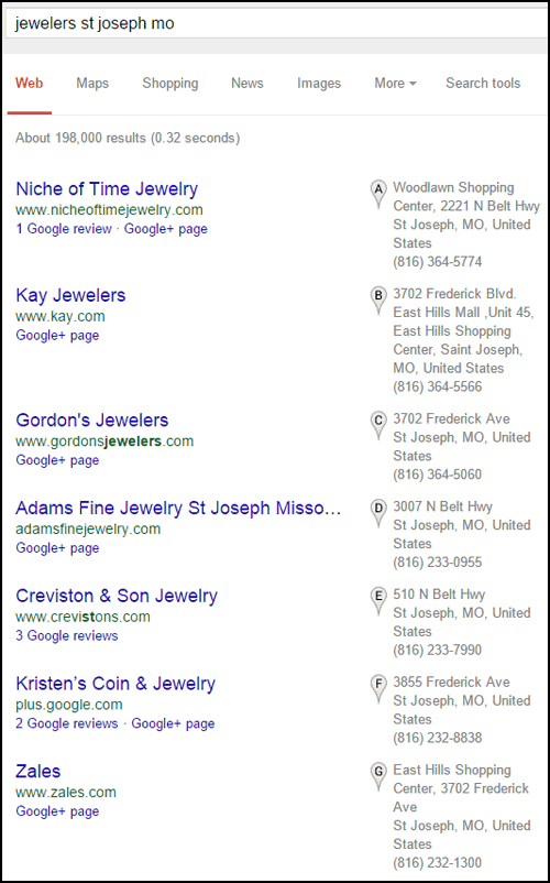 Adams Fine Jewelry Website Review 1235-jewelers-st-joseph-mo-serp-38