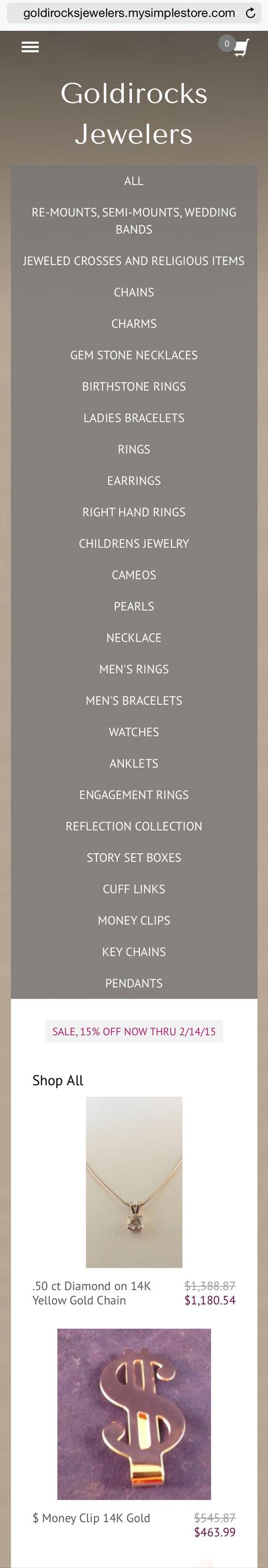 Goldirocks Jewelers Website Review 1250-shop-mobile-85