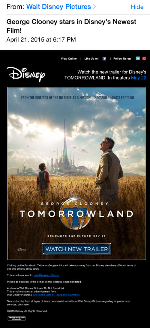 Learning From the Marketing of a Marvel Mouse 1251-tomorrowland-email-45