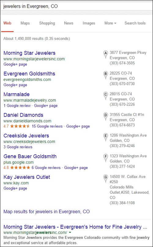 Morning Star Jewelers Website Review 1260-serp-jewelers-evergreen-co-94