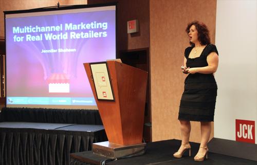 JCK Talks 2015: Introduction to Multichannel Marketing for Retail 1272-jennifer-shaheen-4