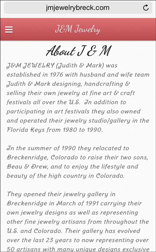 J&M Jewelry Mobile Website Review 1275-about-page-83