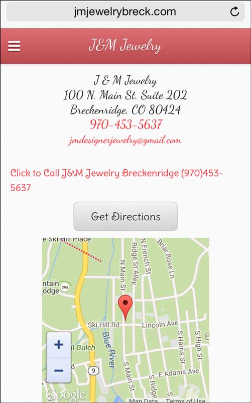 J&M Jewelry Mobile Website Review 1275-contact-page-35