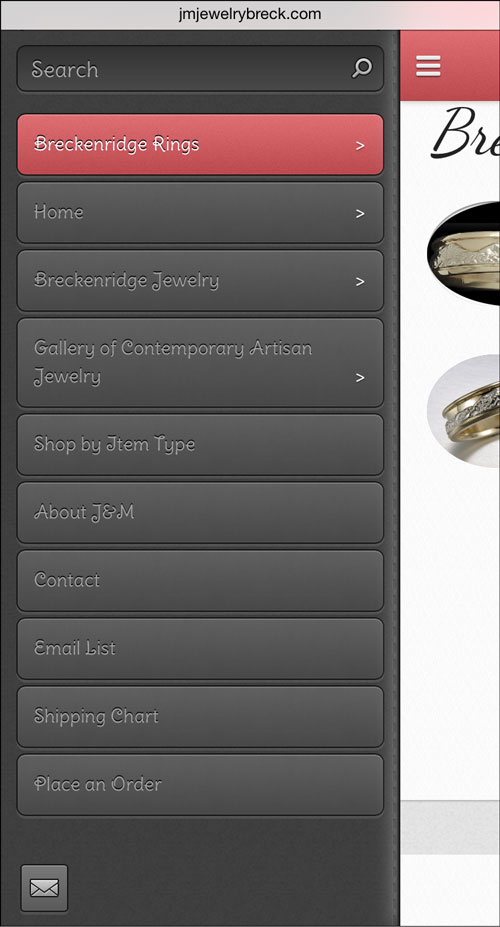 J&M Jewelry Mobile Website Review 1275-jmjewelry-menu-16