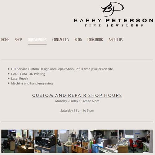 Barry Peterson Jewelers Website Review 1285-services-page-21