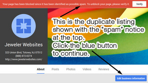 How-To Delete a Duplicate Google Places for Business 1294-992-step2a