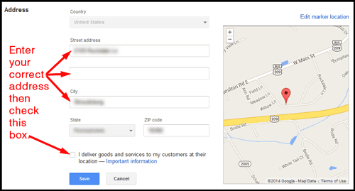 Google Places for Business Settings for Personal Jewelers 132-999-edit-screen