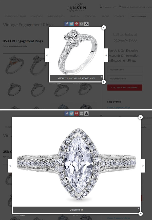 Jensen Jewelers Website Review 1320-inconsistant-image-sizes-33