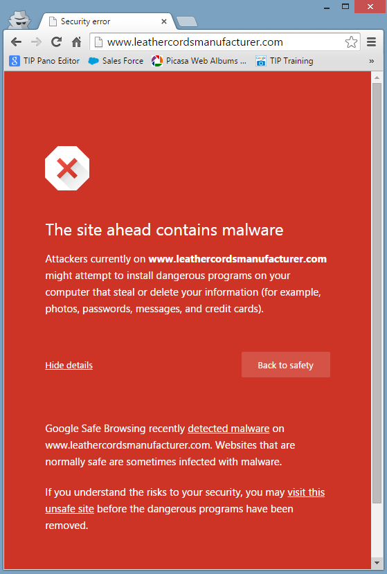 When Moderating Blog Comments Leads to Malware Attacks 1321-chrome-malware-warning-12