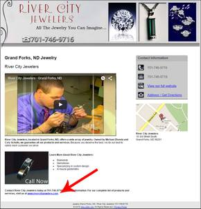 Horrible Retail Jeweler Websites Near Grand Fork 1325-river-city-yp-33