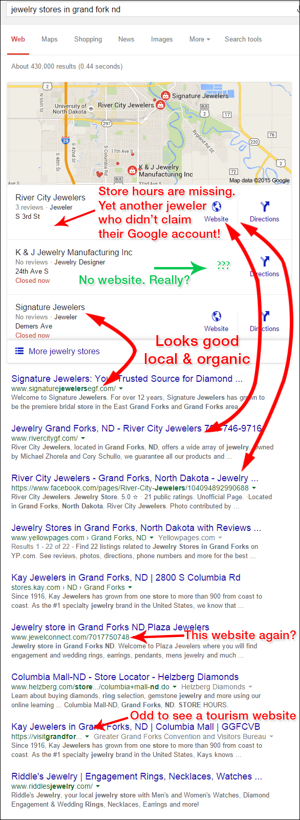 Horrible Retail Jeweler Websites Near Grand Fork 1325-serp-13