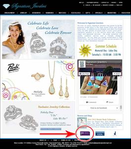 Horrible Retail Jeweler Websites Near Grand Fork 1325-signature-jewelers-home-27