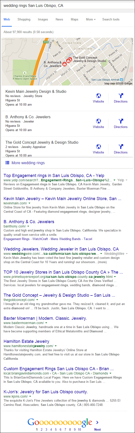 Kevin Main Jewelry Website Review 1330-wedding-rings-San-Luis-Obispo-CA-serp-92