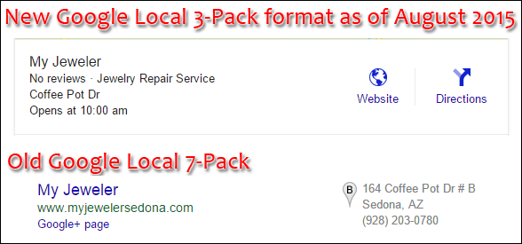 Implications of Google Local 3-Pack replacing the Google+ Local 7-Pack 1331-compare-old-to-new-local-pack-format-63