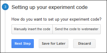 Google Website Optimizer is Now Google Experiments TBT 1334-experiment-setup7-88