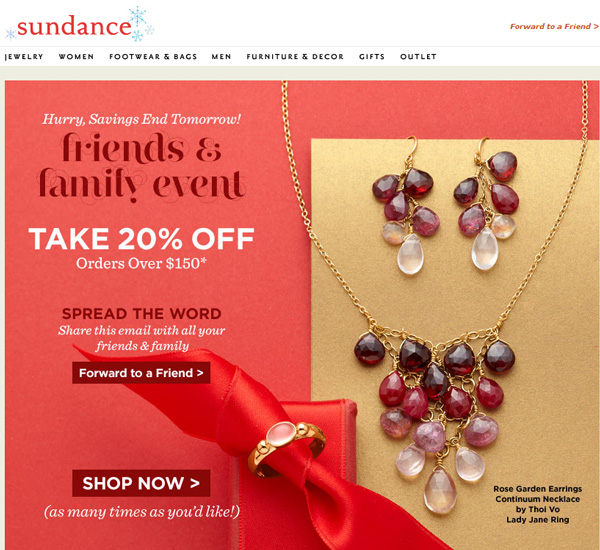 Branding Your Holiday Advertising: Holiday 2015 Run-up 1348-earrings-necklace-email-97