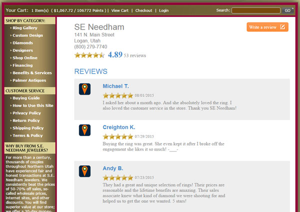 S.E. Needham Jewelers Website Review 1355-review-page-3