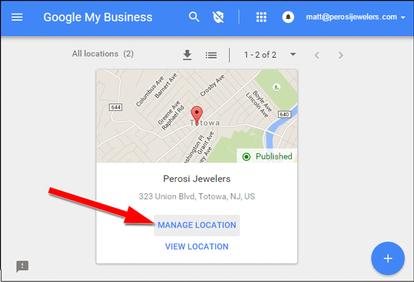 Setting Up Google AdWords Express TBT: 2015 Holiday Run-Up 1369-manage-location-60