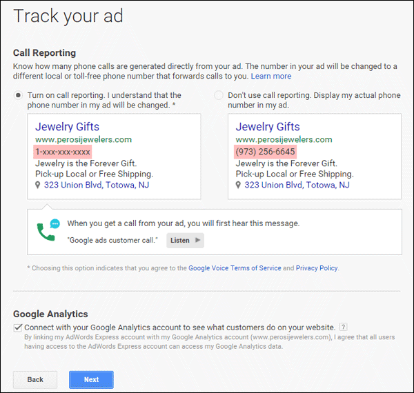 Setting Up Google AdWords Express TBT: 2015 Holiday Run-Up 1369-track-ads-10