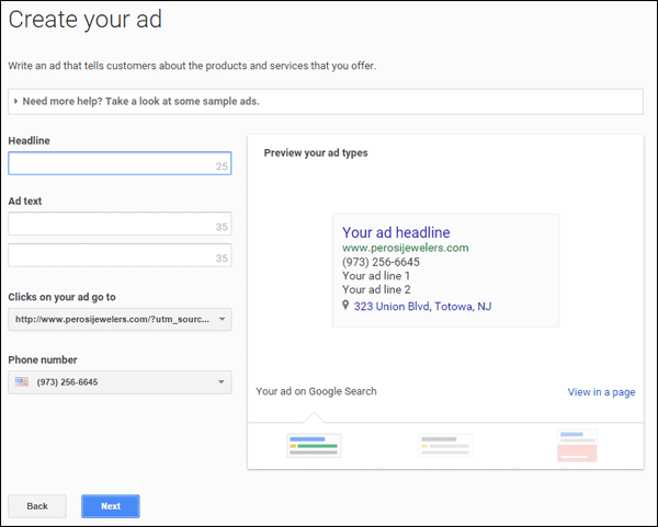 Setting Up Google AdWords Express TBT: 2015 Holiday Run-Up 1369-write-the-ad-75