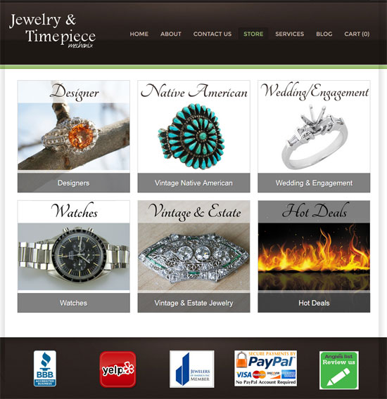 Jewelry & Timepiece Mechanix Website Review 1375-mechanix-store-80